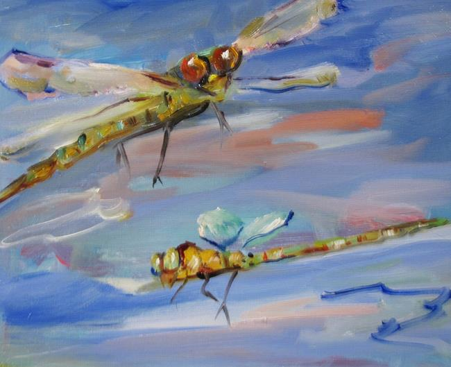 Art: Dragonflies No. 4 by Artist Delilah Smith