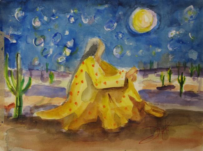 Art: Stargazing by Artist Delilah Smith
