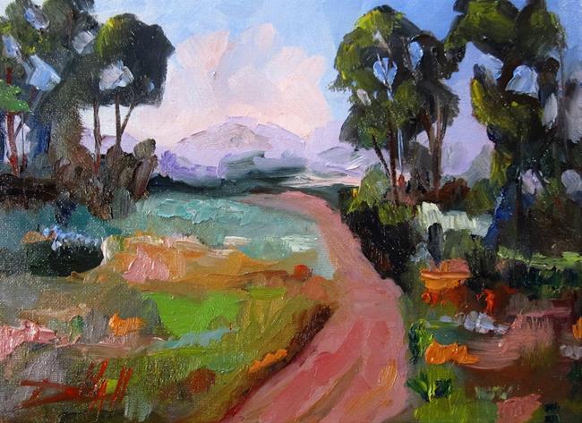 Art: Landscape No,20 by Artist Delilah Smith