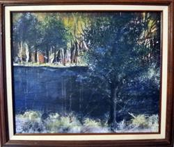 Art: Northwoods (SOLD) by Artist Vicky Helms