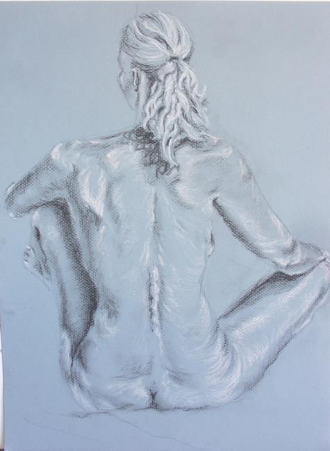 Art: Peaceful Contemplation (sold) by Artist Carroll