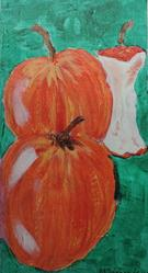 Art: apples #13 by Artist Nancy Denommee