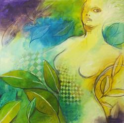 Art: ninfa verde by Artist Alessandro Andreuccetti