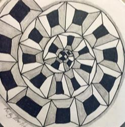 Art: Zentangle Inspired by Ulrike 'Ricky' Martin