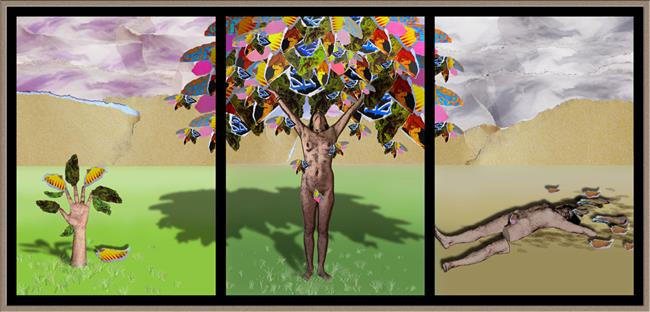 Art: Seasons of Myself by Artist Lindi Levison