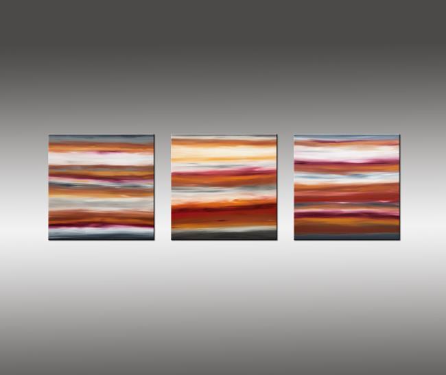 Art: Sunrise 38 by Artist Hilary Winfield