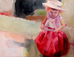 Art: Playing Dress Up by Artist Christine E. S. Code ~CES~