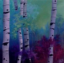 Art: Enchanted Birch by Artist Christine E. S. Code ~CES~