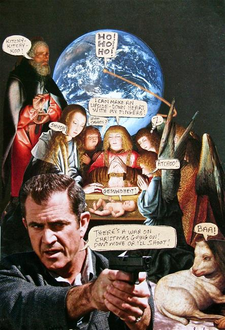 Art: The War On Christmas by Artist Shawn Marie Hardy