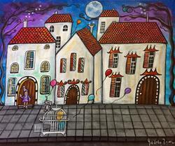 Art: On Your Doorstep by Artist Juli Cady Ryan
