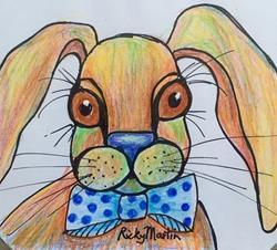 Art: Bunny by Artist Ulrike 'Ricky' Martin