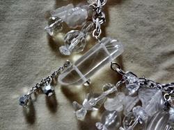 Art: Crystal Necklace by Artist Vicky Helms