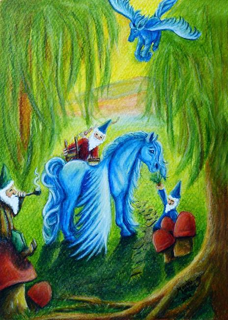Art: CP15 - Enchanted  (SOLD) by Artist Monique Morin Matson