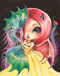 Art: Vivi Drakonette by Artist Nico Niemi