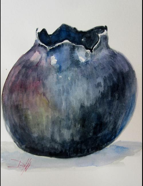 Art: Blueberry by Artist Delilah Smith