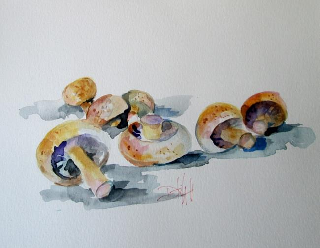 Art: Mushrooms by Artist Delilah Smith