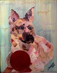 Art: Sadie2 by Artist Laura Gemme Triplett