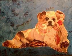 Art: Savannah2 by Artist Laura Gemme Triplett