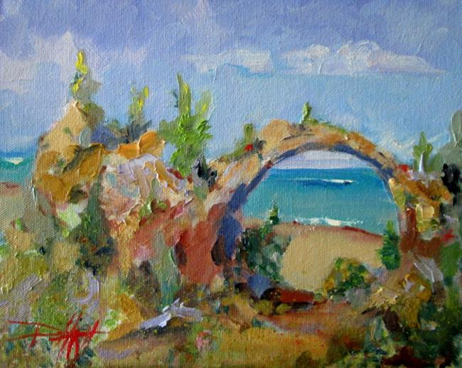 Art: Arch Rock by Artist Delilah Smith