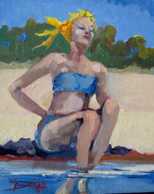 Art: Summer Breeze by Artist Delilah Smith