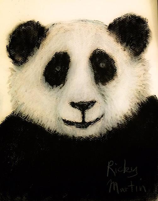 Art: Panda Bear by Artist Ulrike 'Ricky' Martin