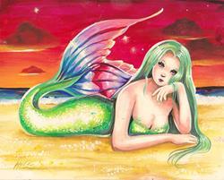 Art: Seaside by Artist Nico Niemi