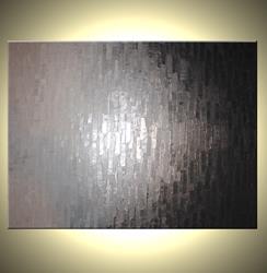 Art: REFLECTED SILVER RUSH by Artist Daniel J Lafferty