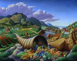 Art: Horn Of Plenty by Artist waltcurlee