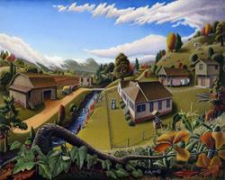 Art: The Veon Farm by Artist waltcurlee