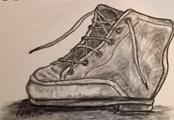 Art: Old Shoe by Artist Ulrike 'Ricky' Martin