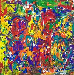 Art: Abstract by Artist Ulrike 'Ricky' Martin
