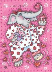Art: GOOD MORNING VALENTINE by Artist Susan Brack