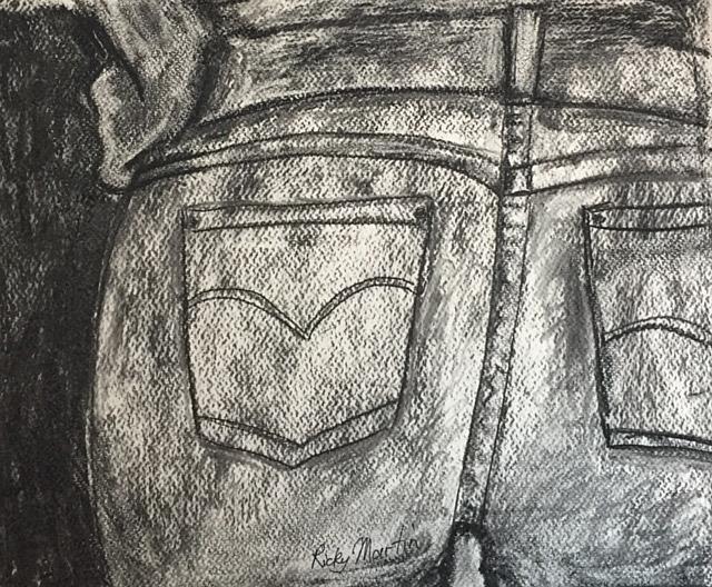 Art: Jeans by Artist Ulrike 'Ricky' Martin