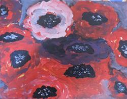 Art: anemones 1 by Artist Nancy Denommee