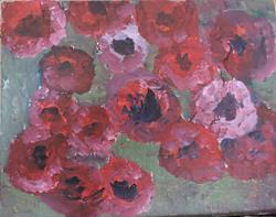 Art: anemones 2 by Artist Nancy Denommee