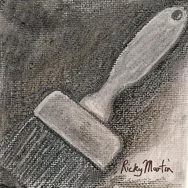 Art: Brush by Artist Ulrike 'Ricky' Martin