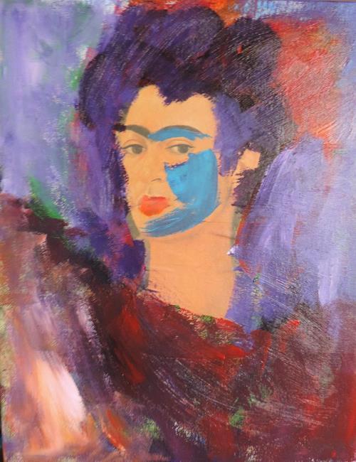 Art: technicolor frida 1 by Artist Nancy Denommee