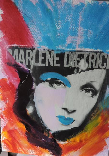 Art: marlene by Artist Nancy Denommee