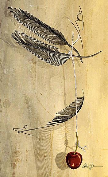 Art: Hangs in the Balance by Artist Alma Lee