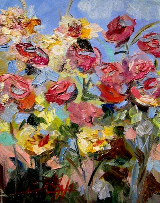 Art: Joyful Garden by Artist Delilah Smith