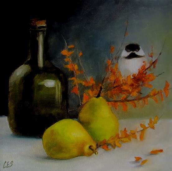Art: Autumn Ensemble by Artist Christine E. S. Code ~CES~