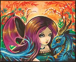 Art: Beautiful Enchantment by Artist Nico Niemi