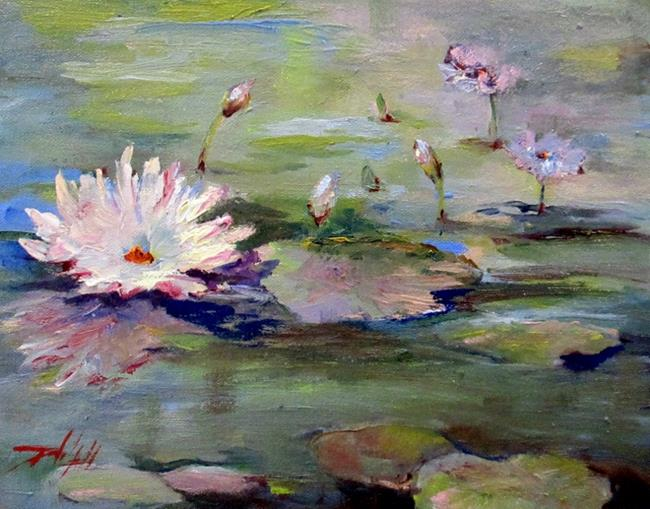 Art: Lilly Pond No. 2 by Artist Delilah Smith