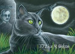 Art: Halloween Reunion by Artist Lisa M. Nelson