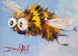 Art: Sting-sold by Artist Delilah Smith