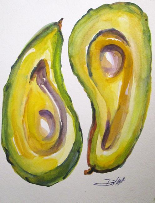Art: Avocado by Artist Delilah Smith