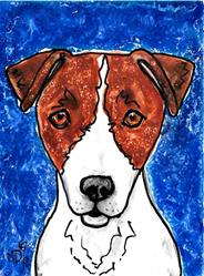 Art: Jrt Blues by Artist Melinda Dalke