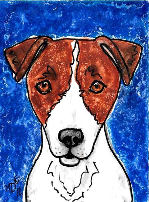 Art: Jrt Blues by Artist Melinda Dalke