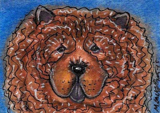 Art: Cinnamon Bear by Artist Melinda Dalke