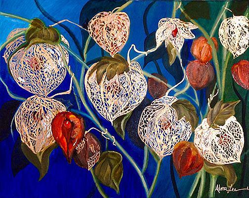 Art: Japanese Lanterns by Artist Alma Lee